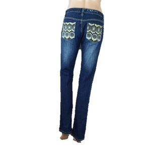 Coogi Embroidered Circles Jeans